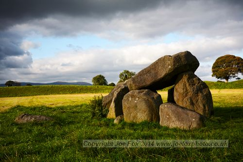 Giants ring megalithic tomb henge Belfast Northern Ireland