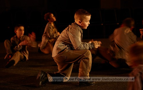 Production stills from DU Dance production of 'Fallen', Titanic Drawing Offices, Belfast, 9th November 2014.