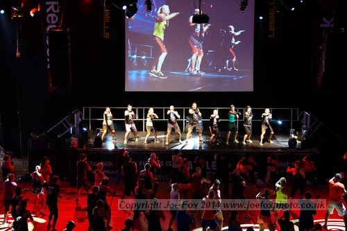 The Les Mills GFX2014 Belfast event at the Bangor Aurora