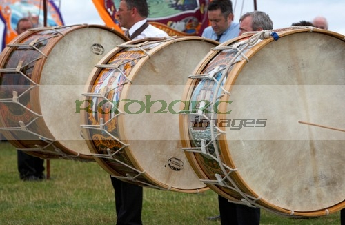 lambeg drums on the 12th July