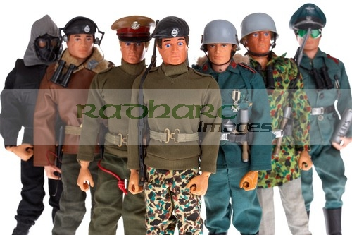 vintage action man toys
