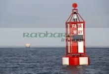 fair way shipping channel marker in belfast lough