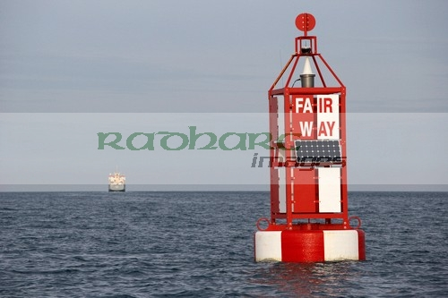 fair way shipping channel marker in belfast lough