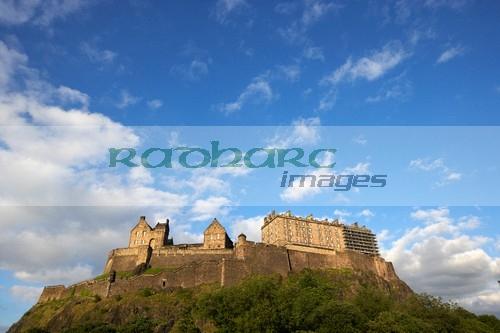 edinburgh castle scotland uk united kingdom