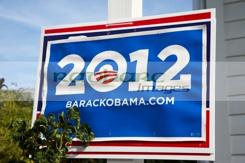 barack obama 2012 us presidential election poster florida usa