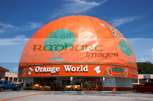 eli's orange world the worlds largest orange kissimmee florida usa