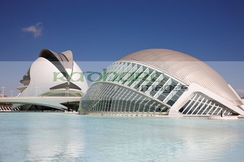 l'hemisferic and palau de les arts reina sofia city of arts and sciences ciutat de les arts i les ciencies valencia spain