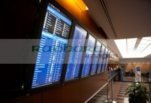ohare airport screens