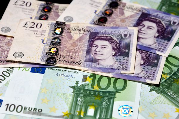 pounds and euros cash brexit